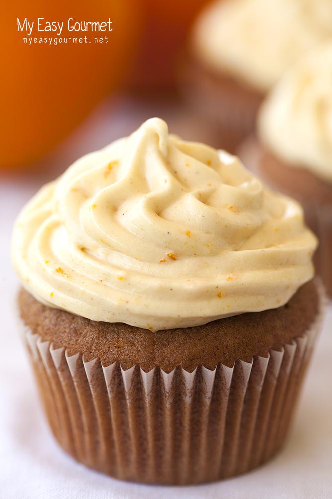 choco-orange cupcakes
